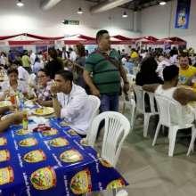 Del 21 al 25 de julio la feria fue visitada por cerca de 65.000 personas atraídas por los deliciosos platos de la cocina tradicional ecuatoriana.