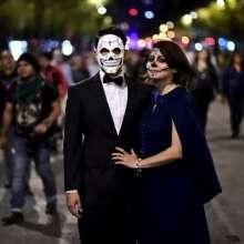 CIUDAD DE MÉXICO, México.- La exposición atrae a decenas de personas, entre ellos turistas cada año. Foto: AFP.