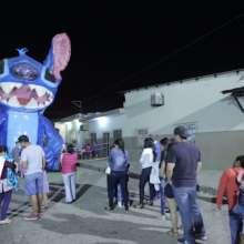 El suburbio de Guayaquil se transformó en el escenario de una gran fiesta.
