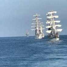 Ecuador es parte del evento 'Regata Velas Latinoamérica 2018'. Foto: Armada Ecuador
