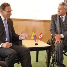 ECUADOR.- Martín Vizcarra tendrá una visita de Estado el 25 de octubre, entre otras actividades. Foto: Archivo