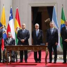 Miembros de Prosur analizarán denuncia del presidente Moreno sobre desvíos de fondos. Foto: Comunicación Ecuador
