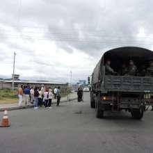 También se reporta un policía herido en centro de rehabilitación de Cotopaxi. Foto: API