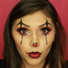 Maquillaje 'Glam Clown'