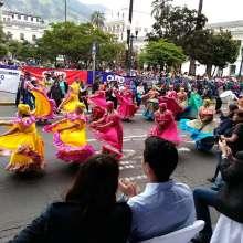 Los mercados saludan a Quito en sus 483 años de fundación / Foto: Twitter Quito Cultura