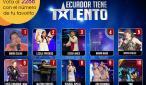 Los finalistas de Ecuador Tiene Talento.