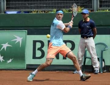 El tenista ecuatoriano cayó en la final ante Alexander Bublik por 6-3 y 6-2. Foto: Archivo