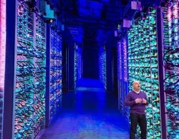 Google abre laboratorio de inteligencia artificial. Foto: AFP
