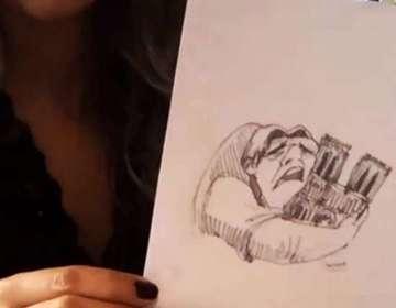 Cristina Correa se inspiró en recordado personaje de Disney, el jorobado Quasimodo. Foto: Captura