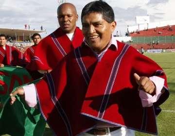 Luis Chango presidente vitalicio de Mushuc Runa.