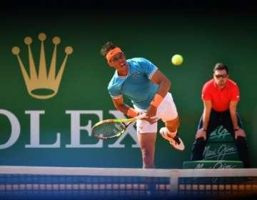 El tenista español venció en octavos de final a Grigor Dimitrov. Foto: YANN COATSALIOU / AFP