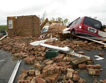 Poderosas tormentas azotan el sur de EEUU. Foto: AP