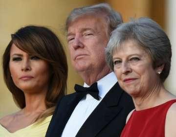 Esta será la primera visita de Estado de Trump a Reino Unido, tras un intento precedente que en julio de 2018. Foto: AFP.