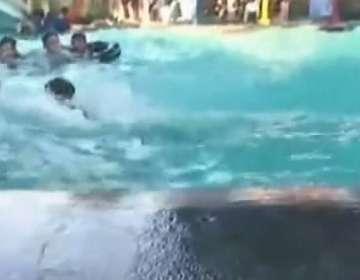 FILIPINAS.- Según el USGS, el movimiento tuvo 6,4 de magnitud y se registró en la isla de Samar. Fotocaptura del video