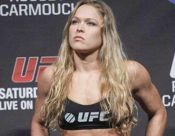 Ronda Rousey, luchadora estadounidense.
