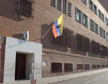 El hombre fue arrestado por un delito de desórdenes públicos. Foto: Consulado General del Ecuador en Madrid