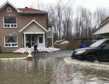 En 2017 ocurrieron las peores inundaciones que se han registrado el este de Canadá. Foto: AFP