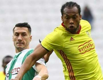 El ecuatoriano se hizo presente en la eliminación de la Copa de Turquía.