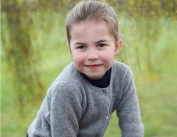 El mensaje de cumpleaños de Meghan Markle a la princesa Charlotte. Foto: IG