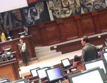 Al nuevo presidente de la Asamblea, le esperan, en camino, algunos cuerpos legales que tienen informes. Foto: Asamblea Nacional