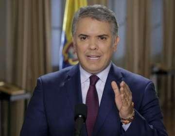 El presidente Duque se solidarizó con el fiscal Néstor Humberto Martínez tras su renuncia.