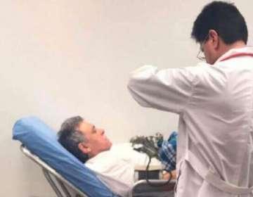 COLOMBIA.- Tras su recaptura, se conoció que el exjefe de las FARC tiene heridas en los brazos. Foto: Twitter