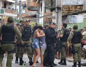 BRASIL.- Desconocidos abrieron fuego contra un bar de la ciudad de Belém, en el norte del país. Foto: Twitter