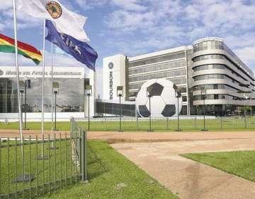 Edificio Conmebol en Paraguay.