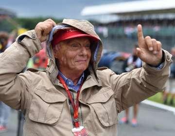 El piloto austríaco falleció este lunes a los 70 años. Foto: ANDREJ ISAKOVIC / AFP