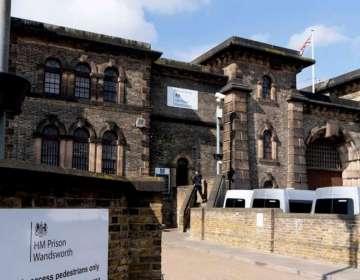 La prisión de Wandsworth, en el sur de Londres, donde está detenido Julian Assange. Foto: AFP