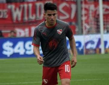 Fernando Gaibor, jugador de Independiente de Argentina.
