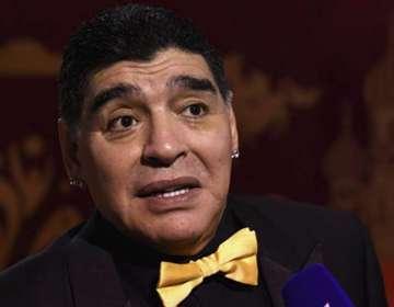 Diego Armando Maradona, leyenda de Argentina.