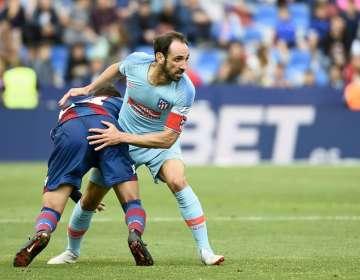 El lateral español de 34 años se va del A. Madrid tras 8 temporadas y media. Foto: JOSE JORDAN / AFP