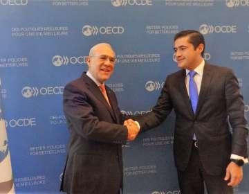 Ecuador fue aceptado como miembro del Centro de Desarrollo de la OCDE el 21 de mayo. Foto: Cancillería