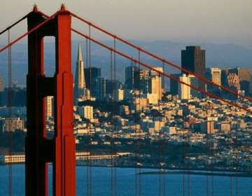 El salario promedio más alto del mundo se paga en San Francisco, California. GETTY IMAGES