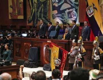 """Ecuador reduce déficit fiscal pese a pagar """"facturas"""" de deuda anterior. Foto: AFP"""