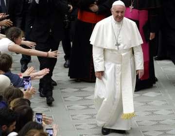 """Papa dice que aborto equivale a """"contratar a un sicario"""". Foto: AP"""