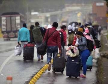 Ecuador estudia imponer visa humanitaria a venezolanos. Foto: AFP