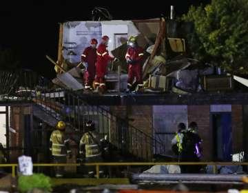 Un tornado destruye un motel en Oklahoma y deja 2 muertos. Foto: AP