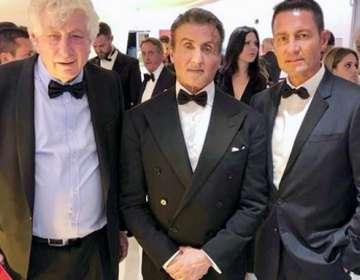 Fernando Colunga y su foto con Sylvester Stallone. Foto: IG