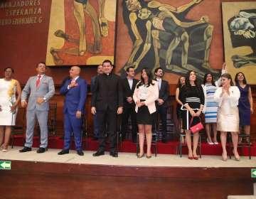 QUITO, Ecuador.- Tras posesión en la Asamblea, las nuevas autoridades participarán en ceremonia ancestral. Foto: Asamblea