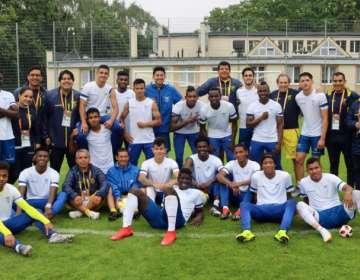 La selección ecuatoriana juega a las 13:30 ante Italia en el mundial sub-20. Foto: Tomada de @FEFecuador