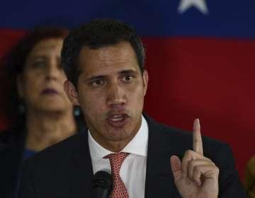 """Guaidó sostuvo que las """"donaciones de particulares"""" sumaron unos 90.000 dólares. Foto: AFP"""