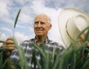 Borlaug recibiría el Premio Nobel de la Paz por los años pasados en Ciudad de México. Foto: Getty Images
