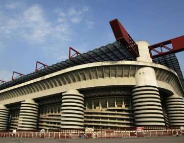 Estadio San Siro en la actualidad.