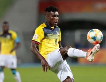 El ecuatoriano fue una de las figuras del Mundial Sub 20.