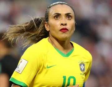 Marta, figura máxima del fútbol brasileño.