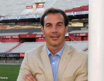 Gustavo Silikovich, exdirigente de River Plate de Argentina.