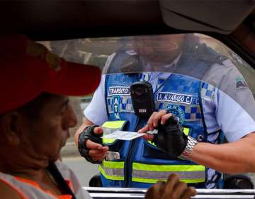Operativo de control de la Autoridad de Tránsito Municipal de Guayaquil. Foto: ATM