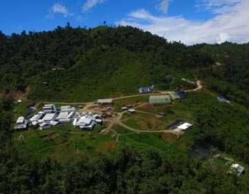 El proyecto Cascabel, que ocupa unas 5.000 hectáreas de territorio, se encuentra en la región norte del país. SOLGOLD